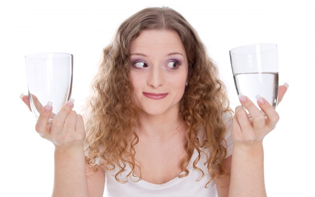 Is Your Glass Half-Full Or Half Empty?